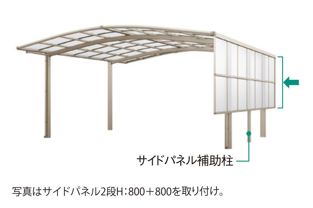 サイドパネル(1〜2段)